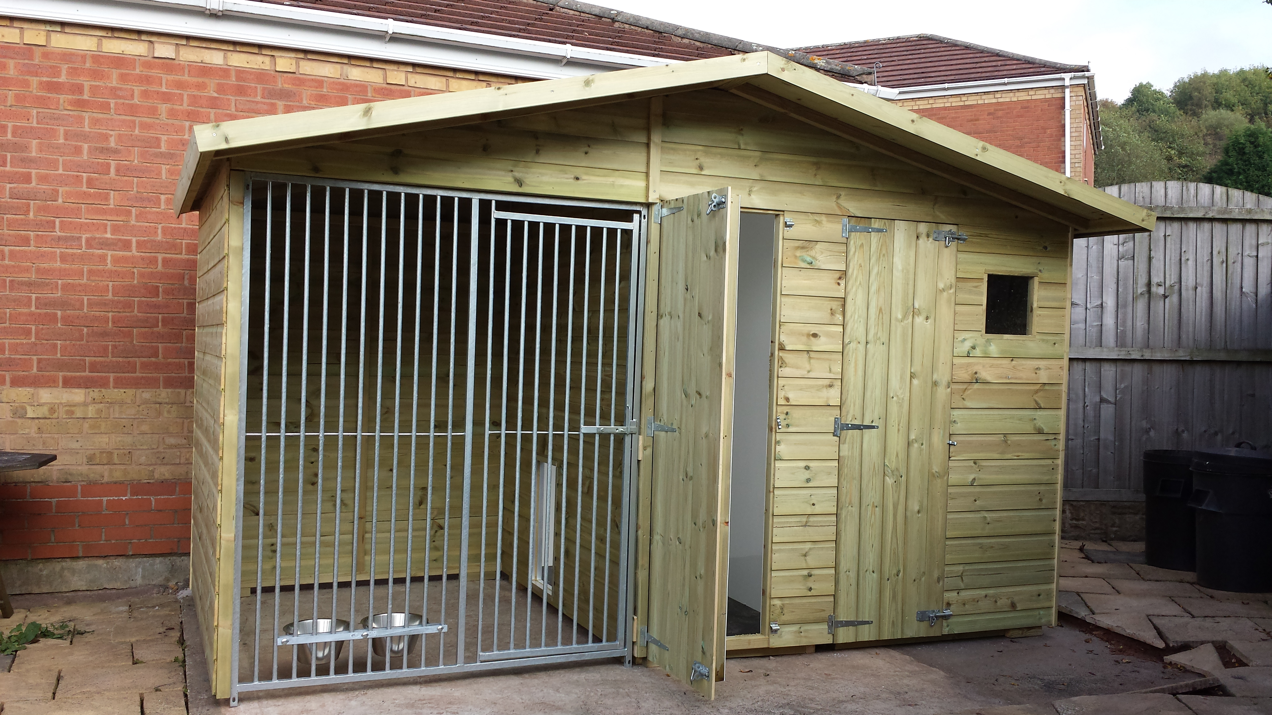 Kennels with Built in Shed